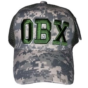 Other - NWT Green Camouflage OBX Outer Banks Carolina Hat
